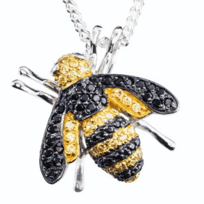 Inspirational Bee Brooch or Pendant
