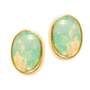 Opal Earrings - From our Opal Purity Collection Luminous Simplicity.
