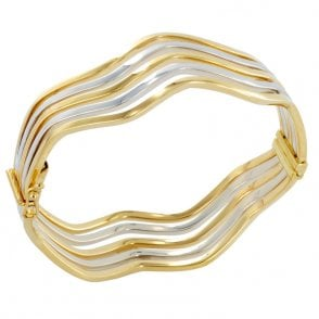 Ladies Shipton and Co Exclusive 9ct Yellow Gold Bangle TAR386NS