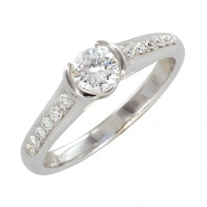 Ladies Shipton and Co Exclusive 18ct White Gold and Diamond Ring S08617DI