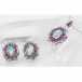 Archive Design of Opals & Rubies Post Earrings