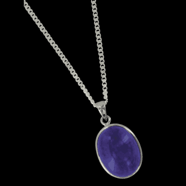 Ladies Shipton and Co Exclusive Silver and Lapis Lazuli Pendant including a 16 Silver Chain TYS059LL