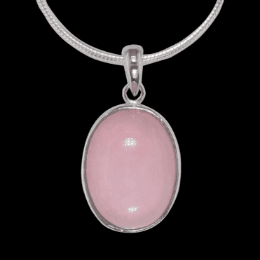 Ladies Shipton and Co Exclusive Silver and Opal Pendant including a 16 Silver Flexisnake Chain TYS039OP