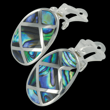 Ladies Shipton and Co Exclusive Silver and Paua Shell TKW126PA