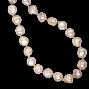 Ladies Shipton and Co Silver Large Baroque Pearls The Caprice of Nature Freshwater Pearls Beads BOJ137FP