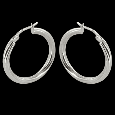 Ladies Shipton and Co Exclusive 9ct White Gold Earrings TAR400NS