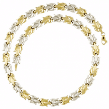 Ladies Shipton and Co 9ct Yellow Gold Necklace