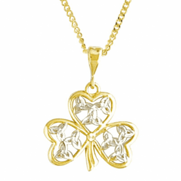 "Ladies Shipton and Co  9ct Yellow Gold and No Stones Pendant including a 20"" 9ct Yellow Gold Chain TAR448NS"