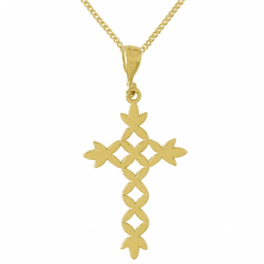 Ladies Shipton and Co Exclusive 9ct Yellow Gold Pendant including a 20 9ct Yellow Gold Chain TAR452NS