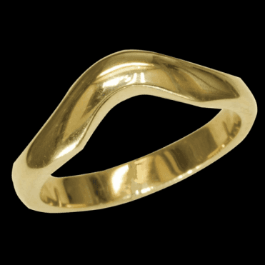 Ring 9ct 2027 Curved Band Ring