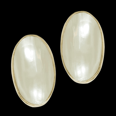 Ladies Shipton and Co Exclusive 9ct Yellow Gold and Blister & Nautilus Pearls Earrings EY1728BP