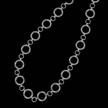 Perfect Circles Necklet  in Sterling Silver