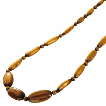 "28"" Necklet of Graduated Rare Golden Coral"