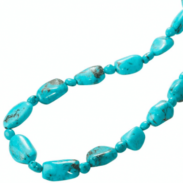 "Rare & Exclusive 28"" String of Timeless Turquoise"