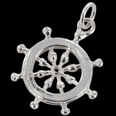 Ladies Shipton and Co Silver Charm DQ1118NS