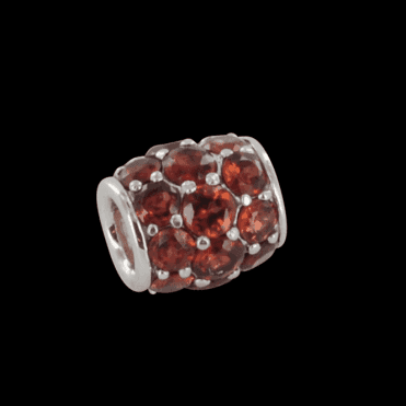 Garnet Pave Barrel