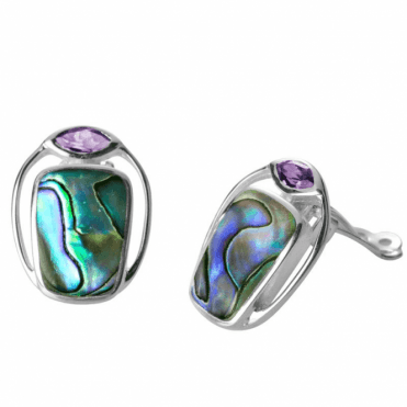 Ladies Shipton and Co Silver and Paua Shell TKW492PAAM