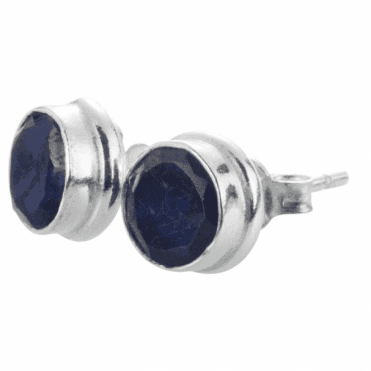 Midnight Sapphire Earrings NEW
