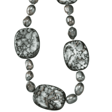 Ladies Shipton and Co Silver and Freshwater Pearls Beads TEN023FPPM