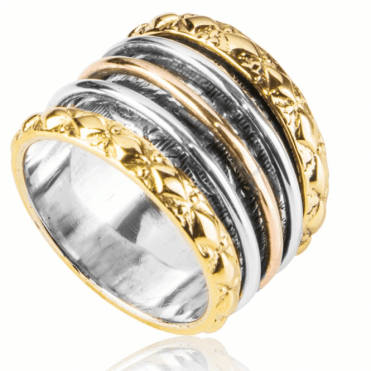 Ladies Shipton and Co Silver Ring TJP010NS