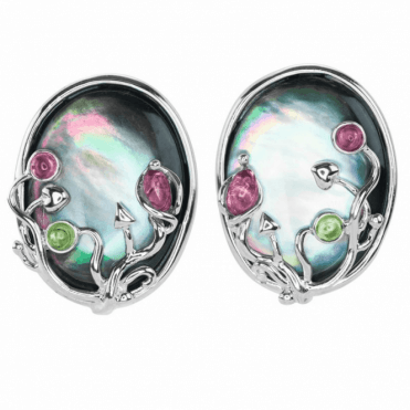 Ladies Shipton and Co Silver and Multiple Stone TTL243MU