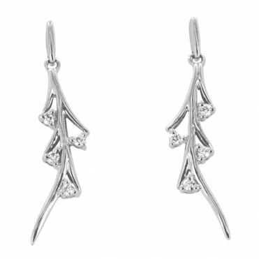 Iced Diamond Earrings