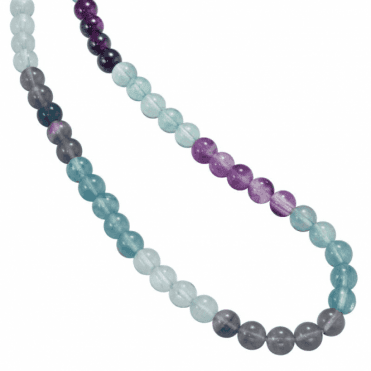 Ladies Shipton and Co Silver and Flourite Beads BFE010FL