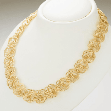 Ladies Shipton and Co 9ct Yellow Gold Necklace TEM044NS