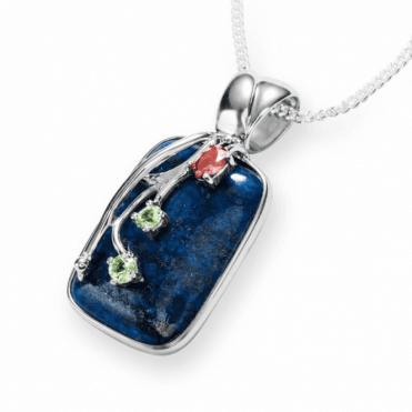 Mystical Lapis with Star Bright Gemstones
