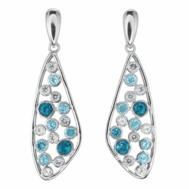 Ladies Shipton and Co Silver and Blue Topaz  TFE089BTWT