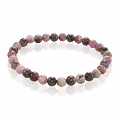 Ladies Shipton and Co Silver and Tourmaline Beads BSS094TT