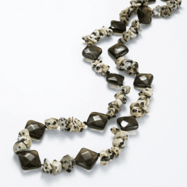 Ladies Shipton and Co Exclusive Silver and Smokey Quartz Beads BSS095SQJA
