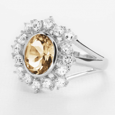 3½cts of Rare Champagne Topaz for Only £145