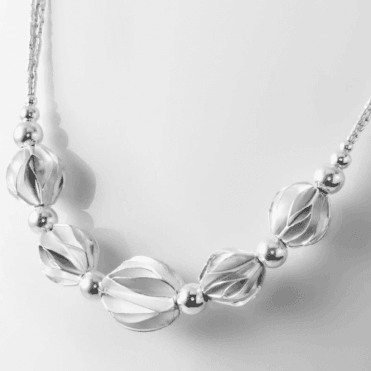 Ladies Shipton and Co Silver Necklace TKA025NS
