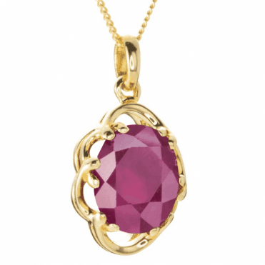 Empress Ruby Pendant
