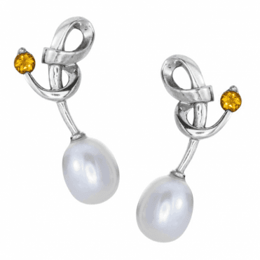 Ladies Shipton and Co Silver and Citrine  TMX063CIP