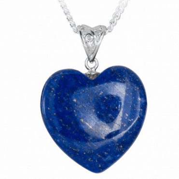 A Gift of Heart in Smooth Lapis Lazuli