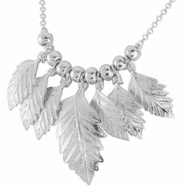 Ladies Shipton and Co Silver Necklace TFE129NS