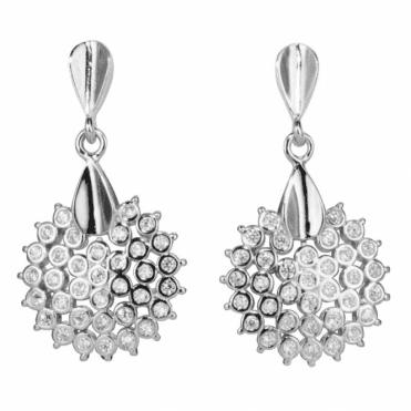 Starburst Earrings for Spectacular Evening Sparkle Only £35