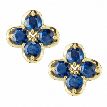 A Jasper May Masterpiece Displays 2.5ct of Bright Blue Sapphires