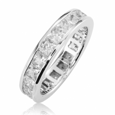 Ladies Shipton and Co Silver and Cubic Zirconia Ring TDA166CZ