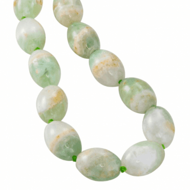 Ladies Shipton and Co Silver and 885ct Flourite Beads on a 28 Chain BKC024FL