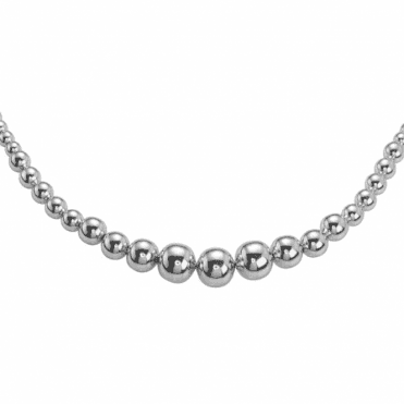 Ladies Shipton and Co Silver Necklace TDA032NS