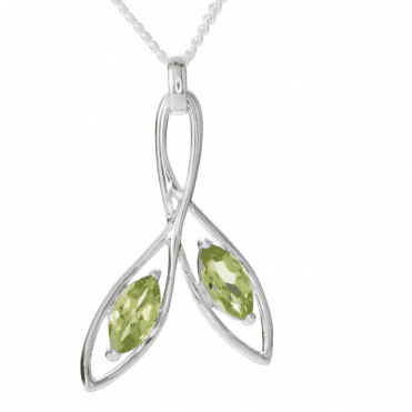 Sycamore Key with 2¼cts of Bright Peridot