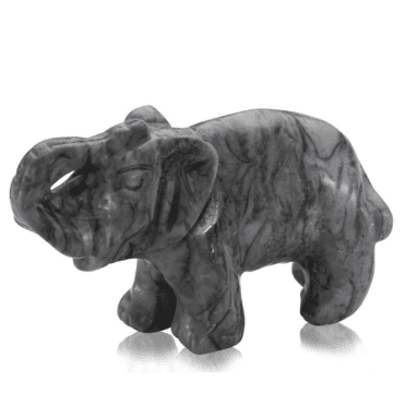 Ladies Shipton and Co Jasper Elephant Carving CWT018PJ