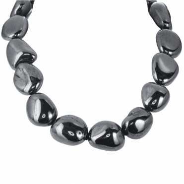 Ladies Shipton and Co Silver and Hematite Beads BFE049HM