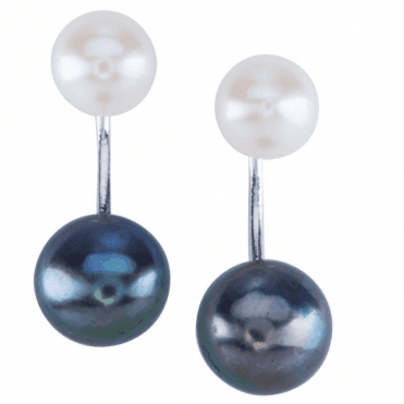 Ladies Shipton and Co Silver and Freshwater Pearls Earrings TTL268FP