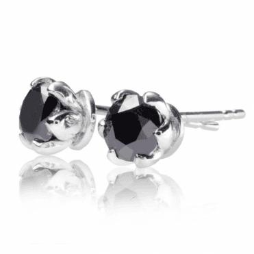 Ladies Shipton and Co Exclusive 9ct White Gold and 1ct Diamond Stud Earrings EWD144DI