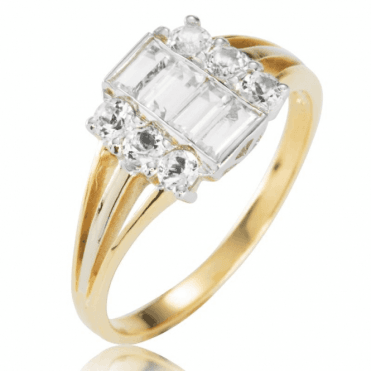 Abundant Ring Displays 1.3cts of Matara's Perfection