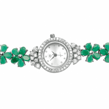 Ladies Shipton and Co T and Green Sapphire  TFE220EMWT